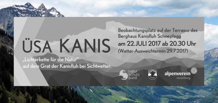 Alpenschutzverband informiert Lichterzauber für die Natur