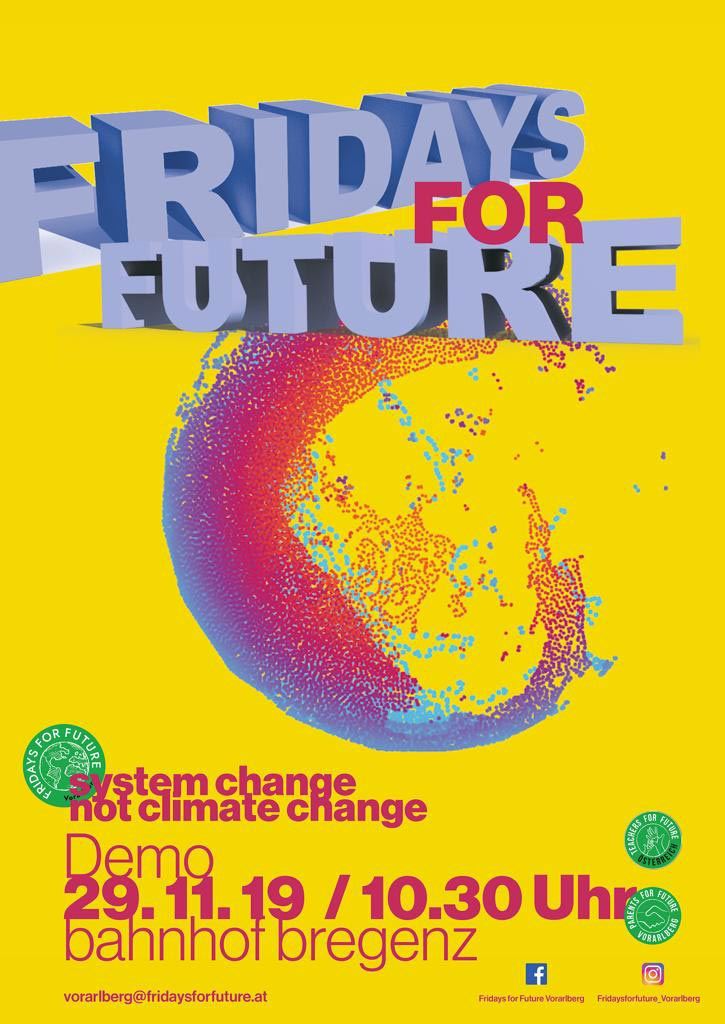 Fridays for Future Streik 2019 - Flyer